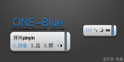 【左文字】ONE-Blue