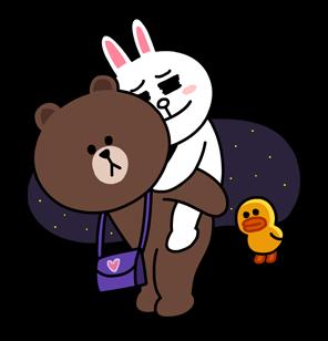 可妮兔和布朗熊秘密相恋